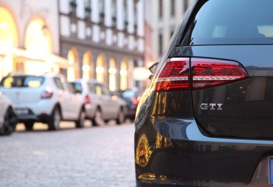 Geschäft mit Gebrauchtwagen