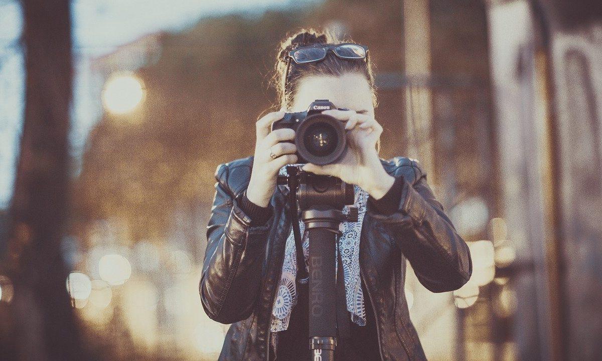 Fotografieren mit Kameras